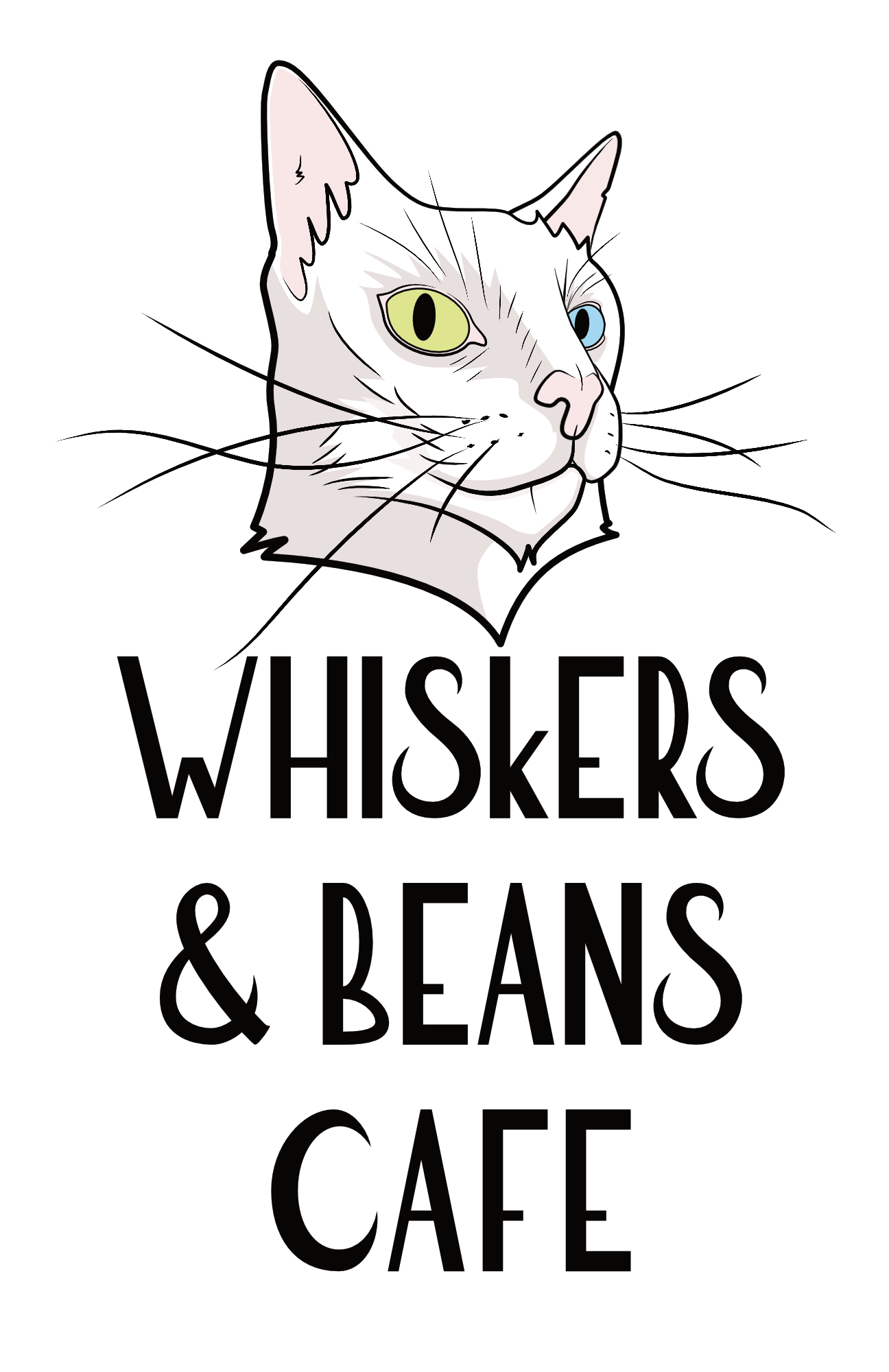 Whiskers & Beans Cafe Logo